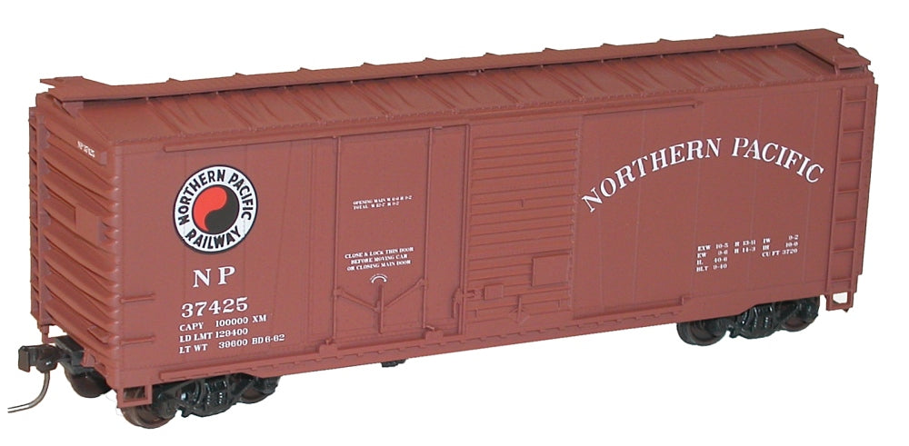 Accurail 3817 HO Northern Pacific 40' Combo Door Steel Boxcar