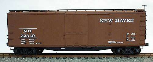 Accurail 4620 HO New Haven USRA 40' Double-Sheathed Wood Boxcar