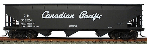 Accurail 7516 HO Canadian Pacific AAR Offset Side 3 Bay Hopper Car Kit
