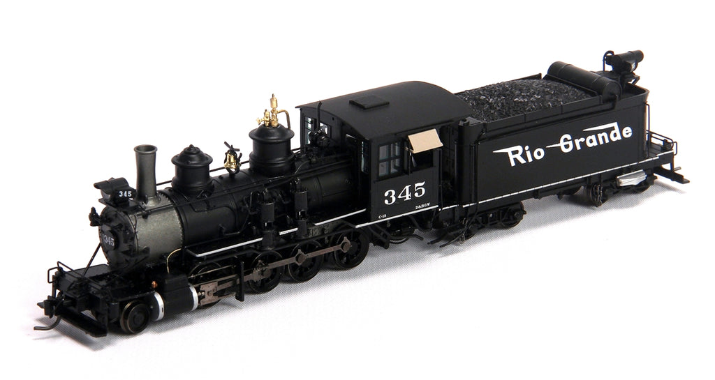 Blackstone Models 310201S HOn3 Denver & Rio Grande Western C-19 2-8-0 Steam Loco w/Sound/DCC #345