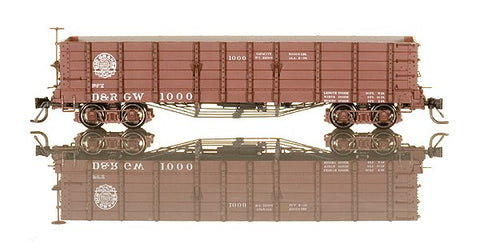 Blackstone Models 340400 HOn3 Denver & Rio Grande Western High Side Gondola #1000