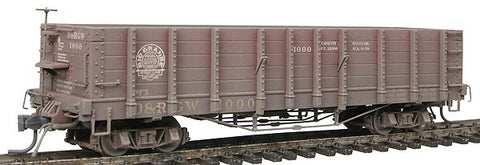 Blackstone Models 340400W HOn3 Denver & Rio Grande Western High Side Gondola #1000 -Weathered