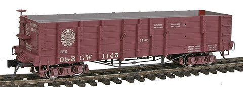 Blackstone Models 340401 HOn3 Denver & Rio Grande Western High Side Gondola #1145
