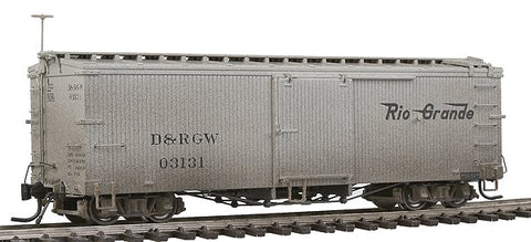 Blackstone Models 340901W HOn3 Denver & Rio Grande Western 3000 Series 30' Boxcar #03131 - Weathered