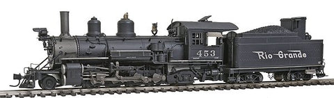 Blackstone Models 310102WS HOn3 Denver & Rio Grande Western K-27 2-8-2 Steam Loco w/DCC/Sound #453