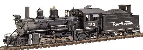 Blackstone Models 310102S HOn3 Denver and Rio Grande Western K-27 Steam Loco w/DCC & Sound #453