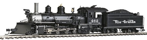 Blackstone Models 310109S HOn3 Denver and Rio Grande Western K-27 Steam Loco w/DCC & Sound #462