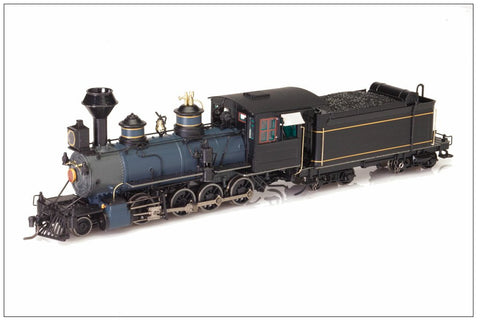 Blackstone Models 310214S HOn3 Painted, Unlettered C-19 2-8-0 Steam Loco w/Sound/DCC
