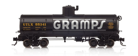 Blackstone Models 340658 HOn3 Union Tank Line UTLX Frameless Tank Car #55341
