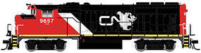 Atlas 10001401 HO Canadian National GMD GP40-2W CN Late Version Diesel #9645