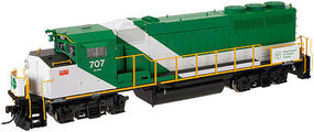 Atlas 10001406 HO GO Transit GMD GP40-2W Early Version Diesel Locomotive #706