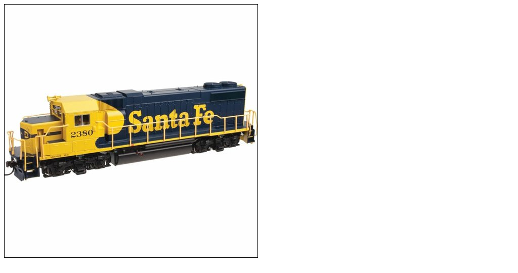 Atlas 10001744 HO Santa Fe EMD GP38-2 Diesel Engine #2376