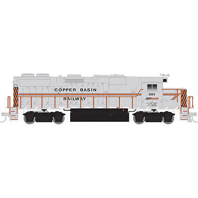 Atlas 10001773 HO Copper Basin Railway EMD Phase II GP39-2 Diesel Engine #501