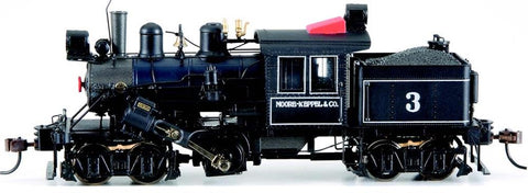 Bachmann 80601 HO Moore Keppel & Co 50-ton Two-Truck Climax #3