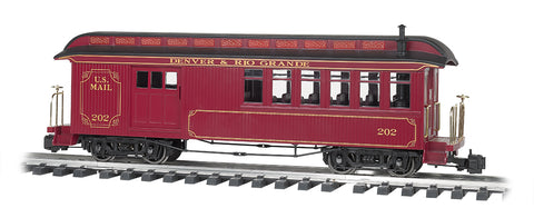 Bachmann 97106 G Combibe Painted/Unletterd Olive With Gold Lining