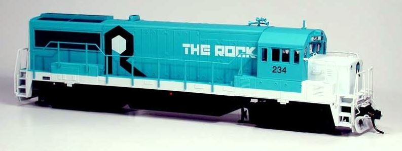 Bowser 23827 HO Rock Island GE U25B Standard DC Executive Line #234