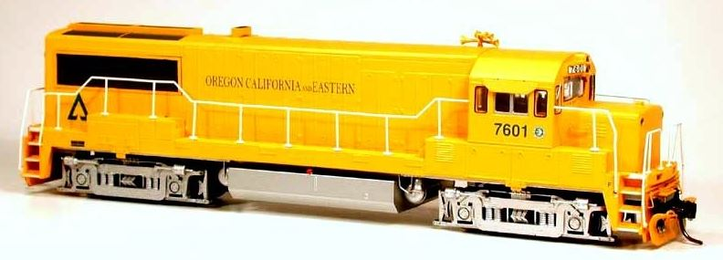 Bowser 23849 HO Oregon, California & Eastern GE U25B Standard DC Executive Line #7601