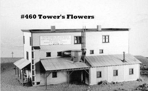 Campbell Scale Models 460 HO Towers Flowers