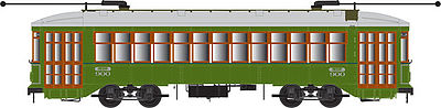 Bowser 12834 HO New Orleans RTA Perley Thomas 2-Truck Streetcar with Sound Standard & DCC #900