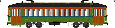 Bowser 12839 HO New Orleans RTA Perley Thomas 2-Truck Streetcar with Sound Standard & DCC #922