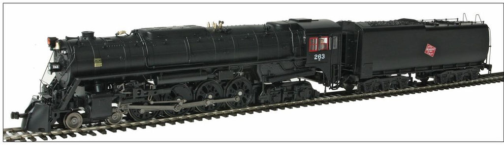 Broadway Limited 2595 HO Milwaukee Road Class S-3 4-8-4 #263
