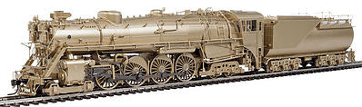 Broadway Limited 2878 HO Undecorated Varnished Brass Class S-2 4-8-4 Vestibule