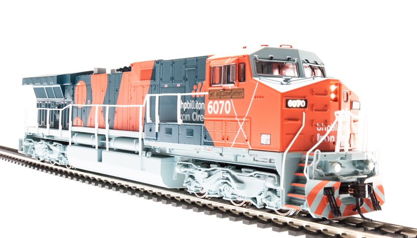 Broadway Limited 4003 HO BHP Iron Ore GE AC6000 Diesel Engine #6075