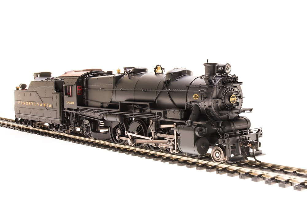 Broadway Limited 4046 HO Pennsylvania Railroad Class L1s 2-8-2 Postwar #3648