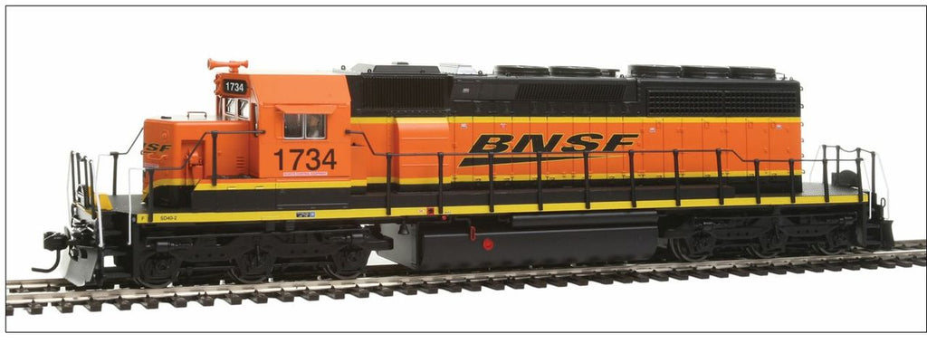 Broadway Limited 4211 HO BNSF Railway EMD SD40-2 Low-Nose Diesel Engine #1734