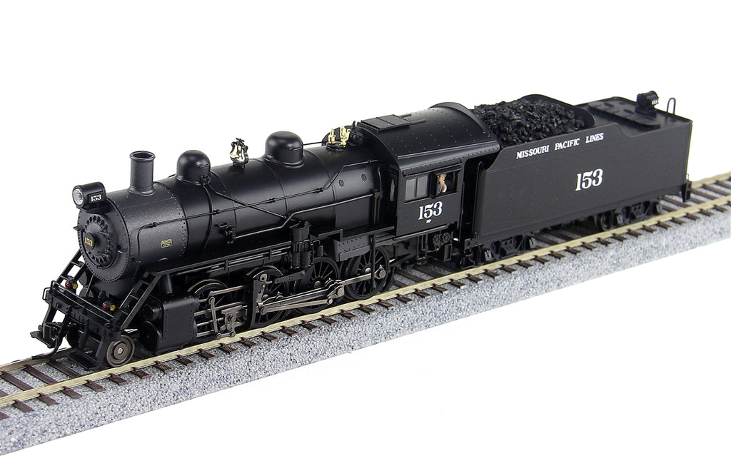 Broadway Limited 4318 HO Missouri Pacific 2-8-0 Consolidation Steam Loco #153