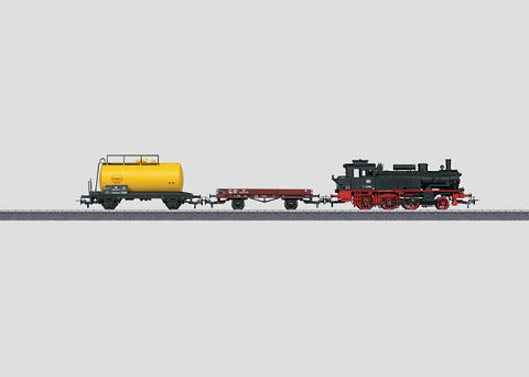 Marklin 29166 HO German DB Class Era III Steam Freight Set 3-Rail