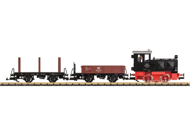 LGB 70230 G German State Railroad DR Era III Freight Train Starter Set