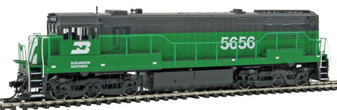 Rivarossi HR2621 HO Burlington Northern GE U28C - Standard DC #5656