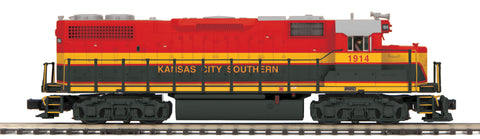 MTH 20-20486-1 O Kansas City Southern GP38-2 Diesel Engine with Proto-Sound 3.0 #1914