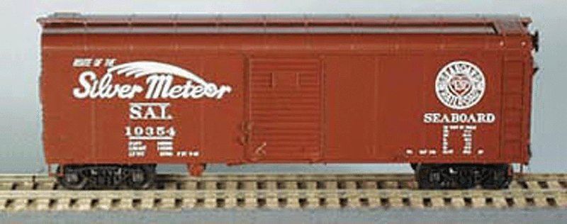 Bowser 56856 HO Seaboard Air Line 40' X-31a Round Roof Single-Door Steel Boxcar Kit