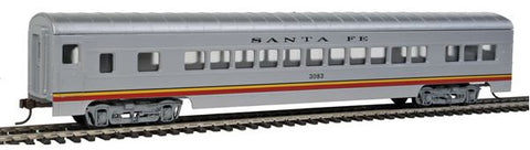 "Con-Cor 910 HO Santa Fe ""Valley Flyer"" 72' Smooth-Side Coach Car"