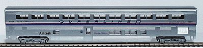 Con-Cor 833 HO Amtrak Phase IV 85' Streamlined Superliner Sleeper Car