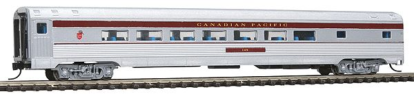 Con-Cor 41410 N Canadian Pacific Budd 85' Corrugated-Side Parlor