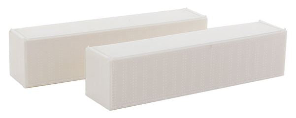 Con-Cor 443100 N Undecorated 40' Reefer Container with ThermoKing Ends 2-Pack