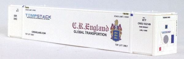 Con-Cor 453204 N CR England 53' Container 2-Pack Set #2