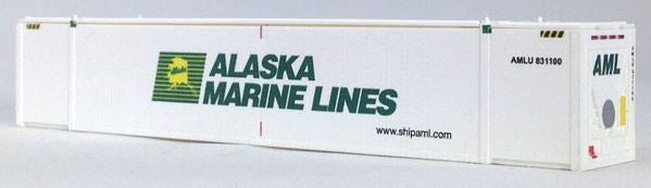 Con-Cor 453206 N Alaska Marine Lines 53' Container 2-Pack Set #2