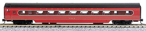 Con-Cor 40058 N Pennsylvania Railroad 85' Smooth-Side Coach Car with Micro-Trains® Couplers