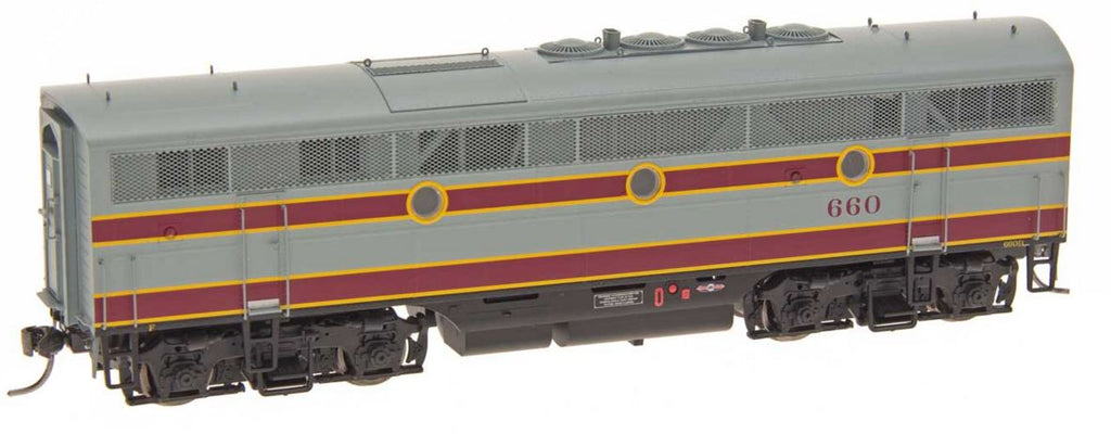 InterMountain 49636S HO Delaware, Lackawanna & Western EMD F3B Diesel Engine with LokSound & DCC