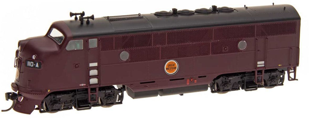 InterMountain 49134 HO Chicago Great Western EMD F3A Diesel Engine - Standard DC