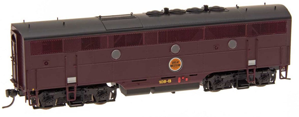 InterMountain 49634 HO Chicago Great Western EMD F3B Diesel Engine - Standard DC