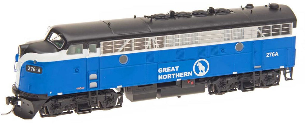 InterMountain 49025S HO Great Northern EMD F7A Diesel Engine with Sound & DCC