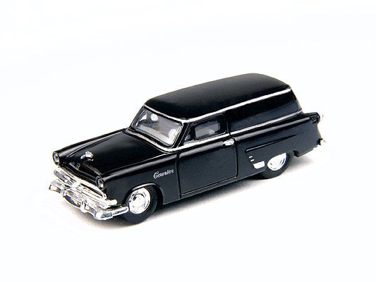 Classic Metal Works 30292 HO Raven Black 1953 Ford Sedan Delivery Station Wagon