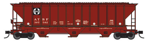 ExactRail EN530102 N Santa Fe ATSF PS2CD 4427 Covered Hopper #302614
