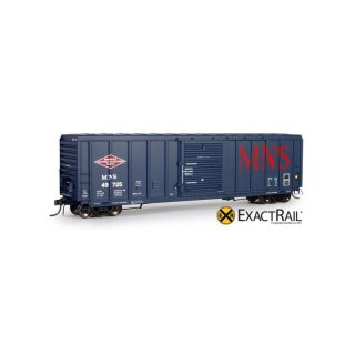 ExactRail EP809036 HO Minneapolis, Northfield and Southern PS5344 Box Car #49771