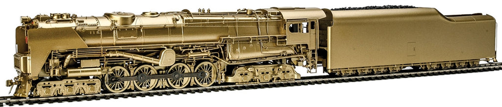 Broadway Limited 2697 HO Painted & Unlettered PRR S2 6-8-6 Turbine w/Sound & DCC